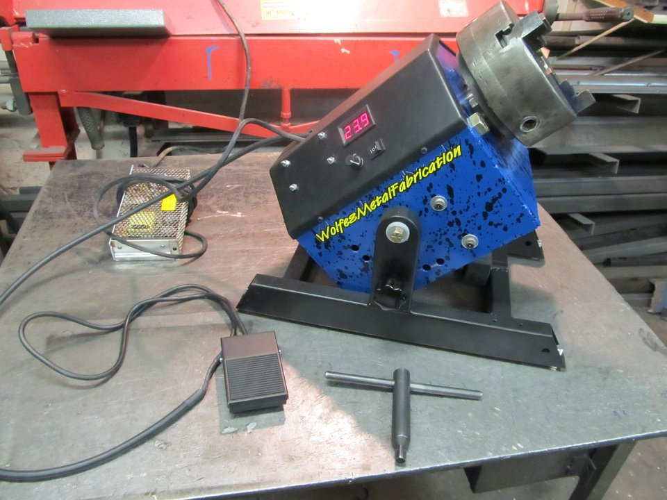 Rotary Welding Positioner
